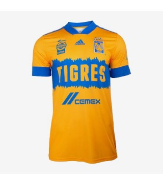 Tigres UANL Home Soccer Jerseys Mens Football Shirts Uniforms 2020 2021 320x363 1
