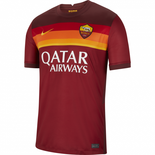 maillot as roma domicile 2020 21