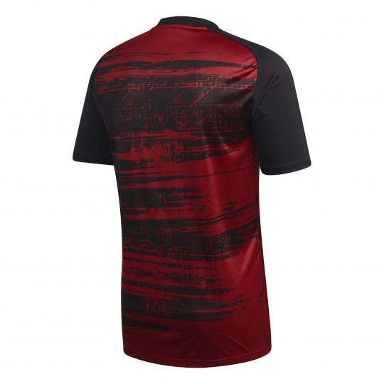 maillot avant match arsenal noir rouge 2020 21 1