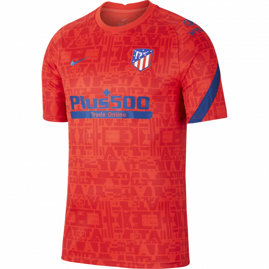 maillot avant match atletico madrid rouge 2020 21