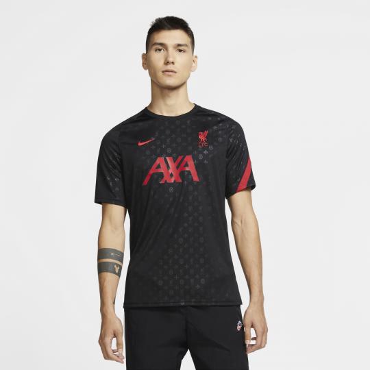maillot avant match liverpool noir rouge 2020 21 2