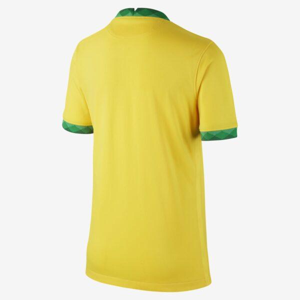 maillot de football bresil 2020 stadium domicile pour plus age jx675P 1