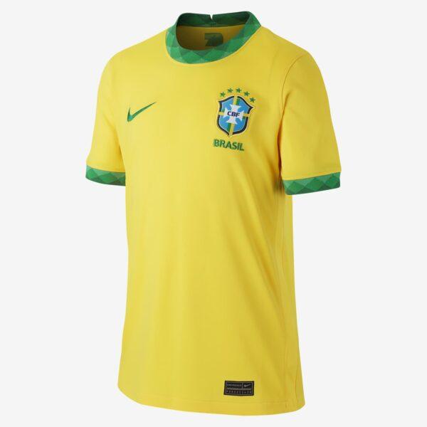 maillot de football bresil 2020 stadium domicile pour plus age