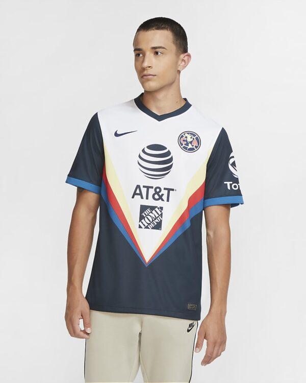 maillot de football club america 2020 21 stadium exterieur pour h2Z5cC
