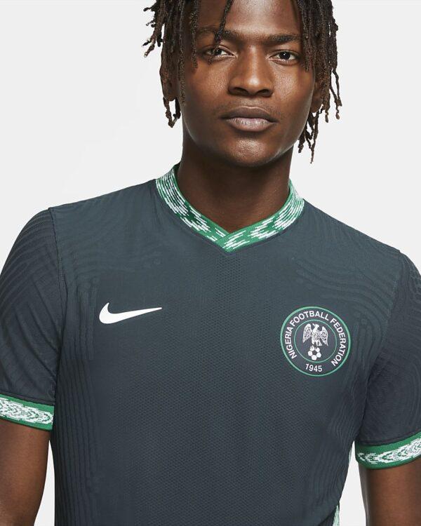 maillot de football nigeria 2020 vapor match exterieur pour