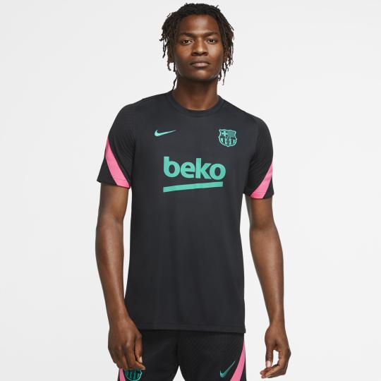 maillot entrainement fc barcelone noir rose 2020 21