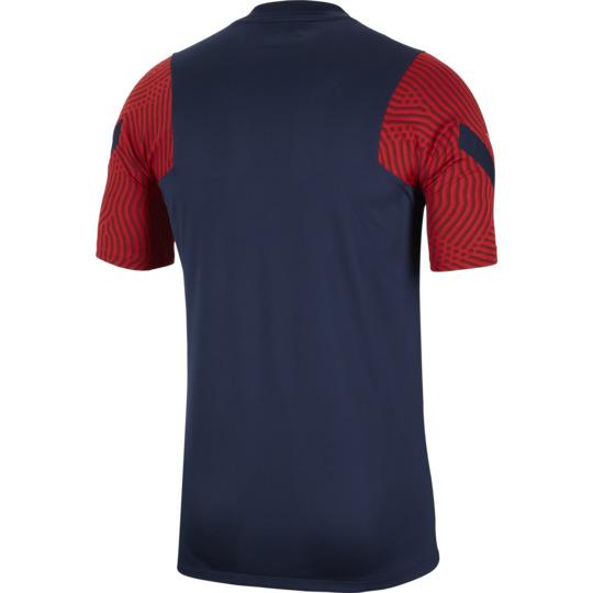 maillot entrainement psg bleu rouge 2020 21 1
