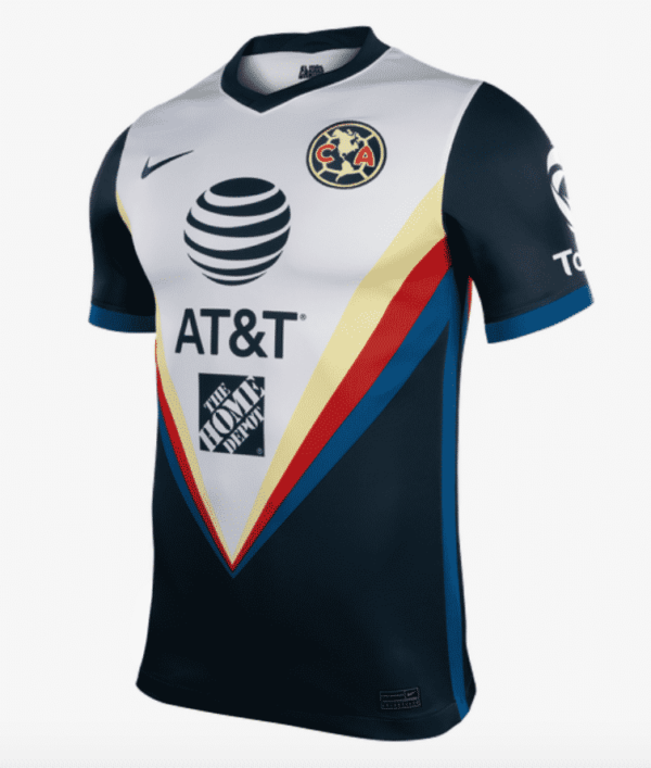 maillot exterieur club america 2020 2021 nike 3