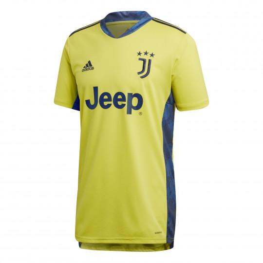 maillot gardien juventus jaune 2020 21