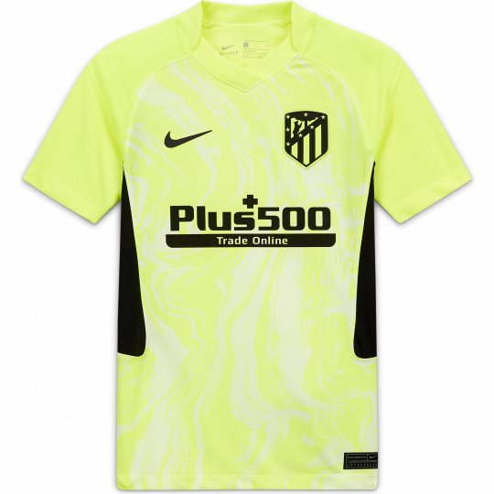 maillot junior atletico madrid third 2020 21