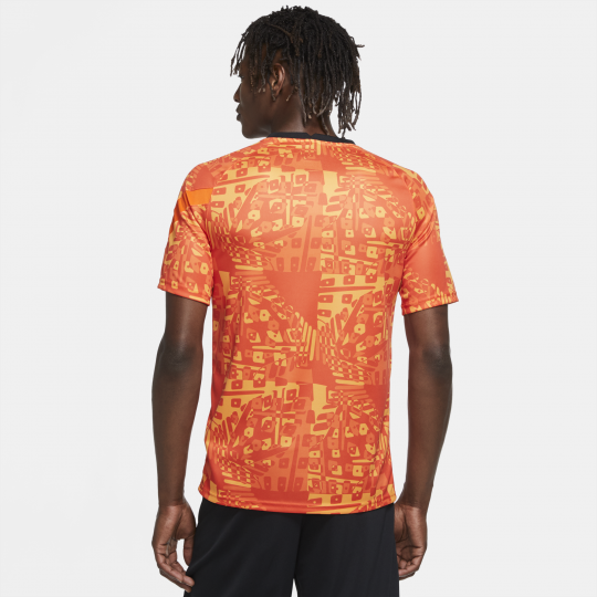 maillot avant match as roma orange 2020 21 1