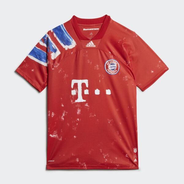 Maillot FC Bayern Human Race Rouge GJ9088 01 laydown