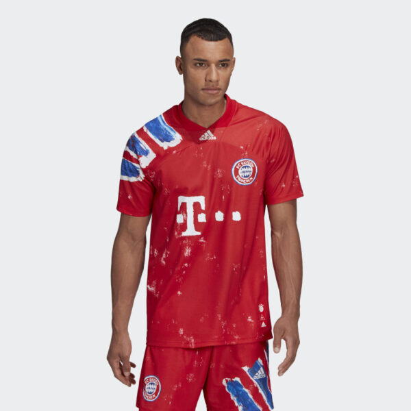 Maillot FC Bayern Human Race Rouge GJ9088 21 model