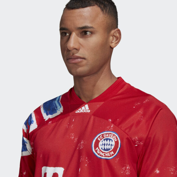 Maillot FC Bayern Human Race Rouge GJ9088 41 detail