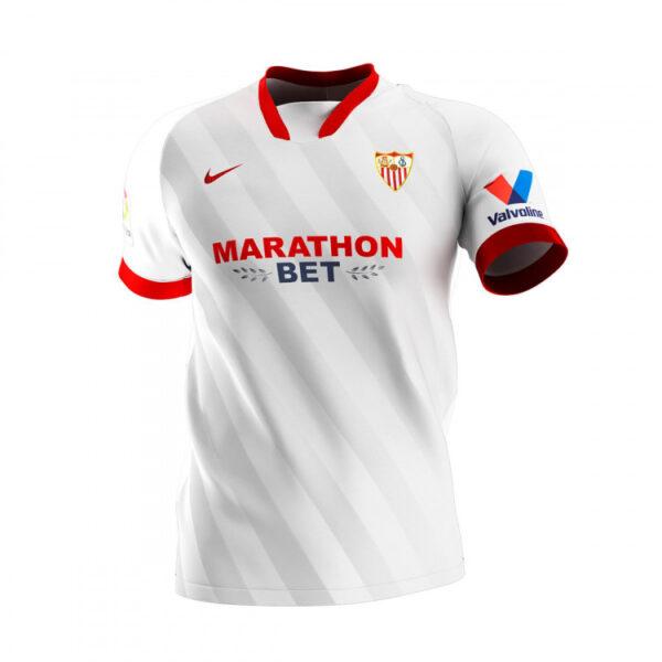 camiseta nike sevilla fc primera equipacion 2020 2021 white 0